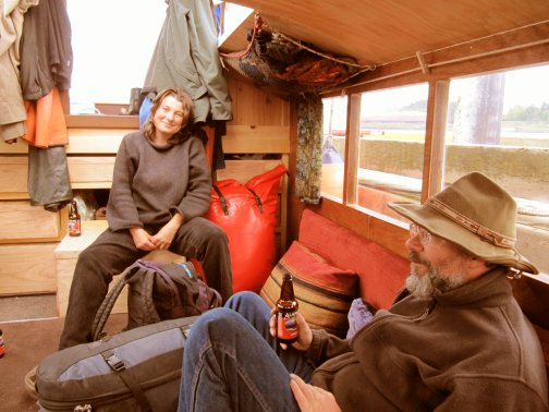 """Bumpuses t' Home"": Dave and Anka aboard SLACKTIDE"